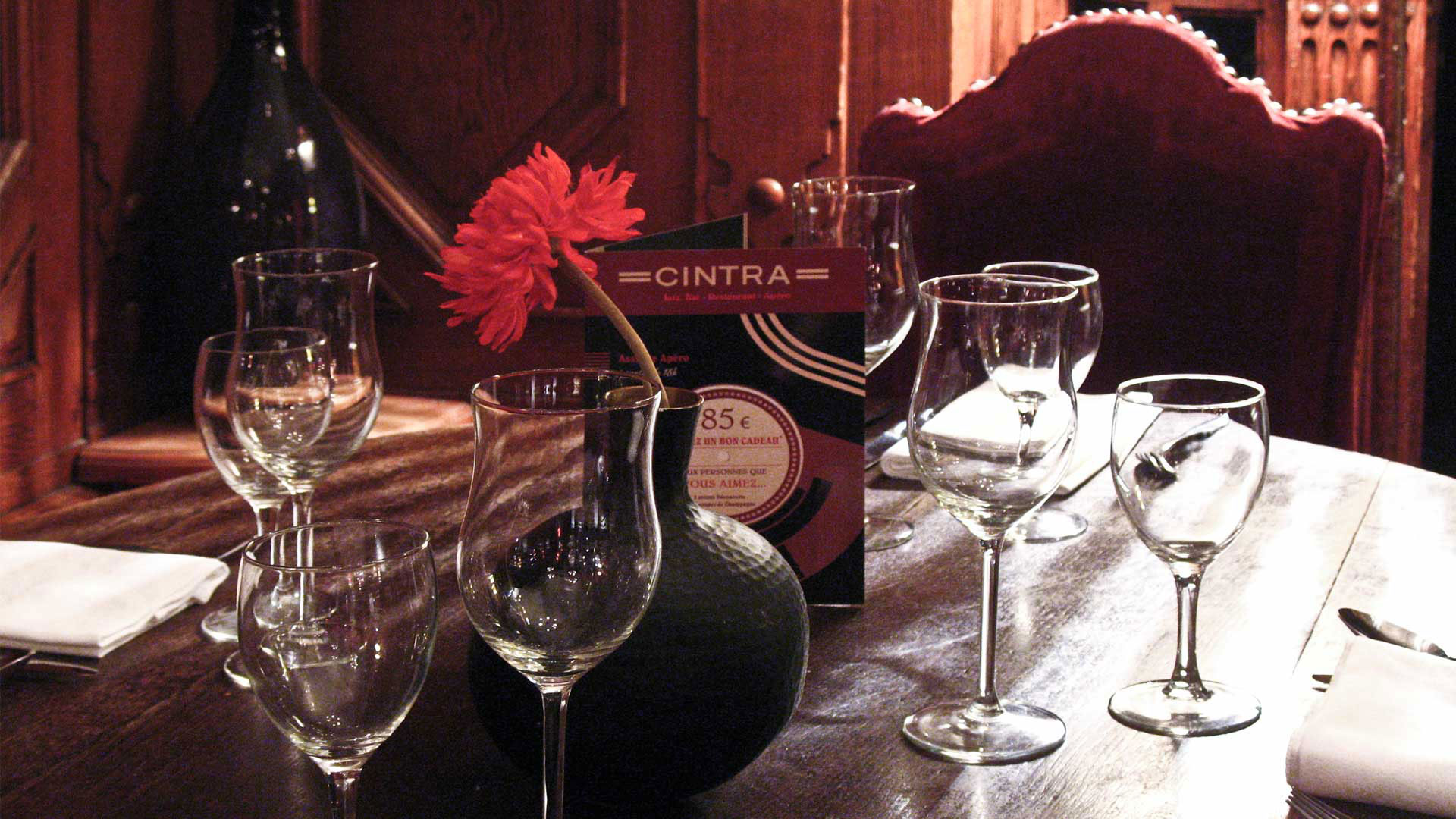 Le Cintra - Restaurant Piano Bar