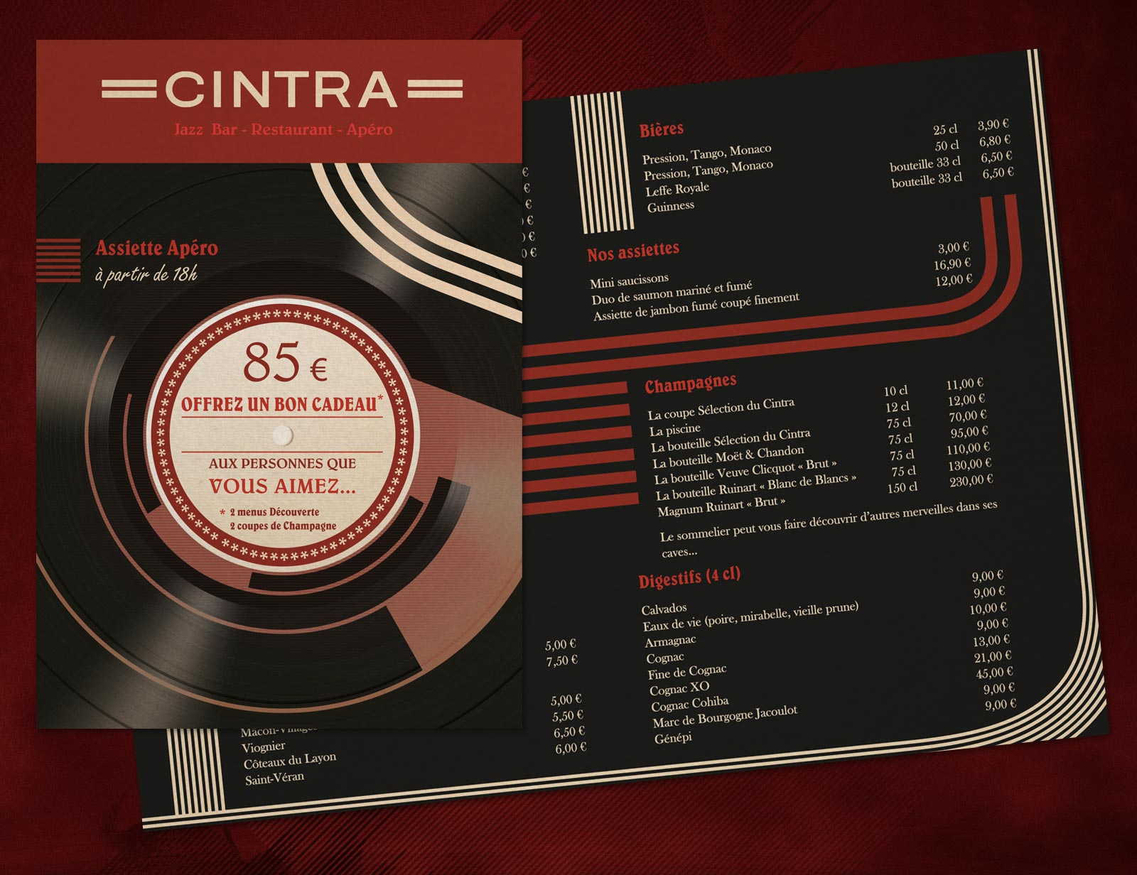 Le Cintra - Restaurant Piano Bar à Lyon
