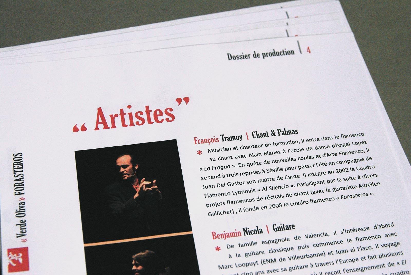 Cuadro Flamenco Forasteros